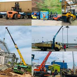 CV.Sakti Trans : Rental Forklift-Rental Crane-Sewa Forklift-Sewa Crane