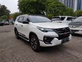 Toyota Fortuner VRZ TRD 2.4 AT 4x2. Th 2017 Service Record. DIESEL