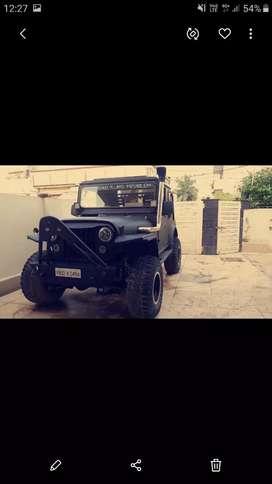 Amry diposal jeep 550