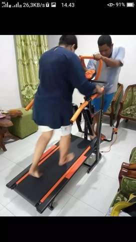 Prom awal tahun treadmill manual 6 fungsi ada massager