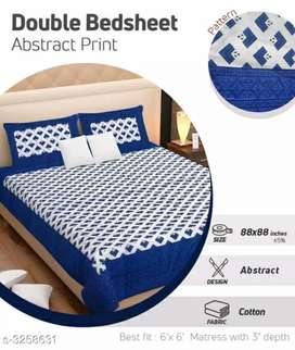 Pure cotton Bedsheets with free home delivery