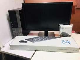 Dell i3 PC 4gb ram 500gb hdd 2gb graphics Card box pack@6999/-(1year)
