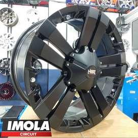 Velg mobil racing r20 Everest HSR wheel baut 6x139,7 Black
