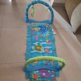 Fisher price kick and crawl baby gym