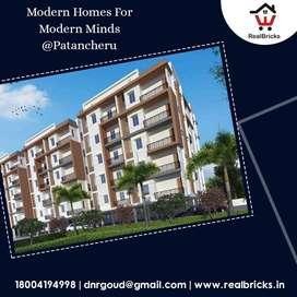 30min Drive from Madhapur Gated Apart 2,3&4 BHK Flats at Patancheru