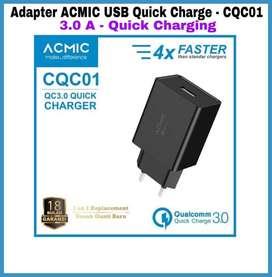 Adapter ACMIC Original 3A KUALITAS BAGUS