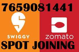 EARN EXTRA INCOME SPOT JOINING SWIGGY AND ZOMOTO DELIVERY BOY