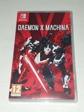 Daemon X Machina game nintendo switch