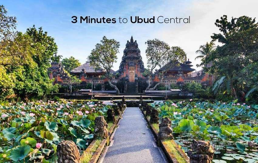 3 Menit dari UBUD Central, Jalan Sriwedari, UBUD. Kawasan Villa Ubud. 0