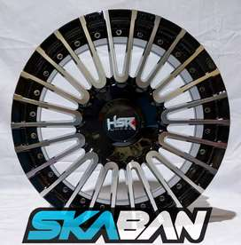 Velg HSR Ring 15 Cocok untuk mobil Brio, ayla, Agya, Datsun, mirage