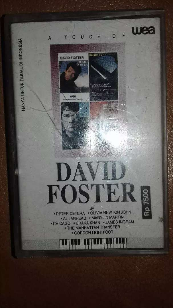Kaset pita a touch of david foster 0