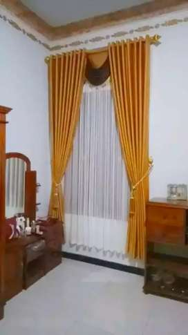 Desain gorden gordyn korden interior jendela pintu dll