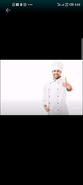 I m fast food and  all types off pizza chef