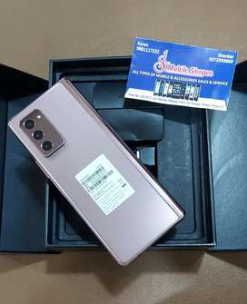Samsung Zfold 2 5g 12gb 256gb only 25 days old bronze colour Indian.