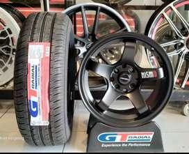 Paket velg dengan ban ring 15 GT radial bisa untuk Avanza Xenia city