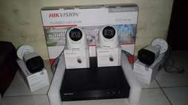 Paket Cctv Hikvision 2Mp 4 Kamera