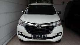 Toyota AVANZA G 2016 AUTOMATIC Plat B Low KM istimewa terawat