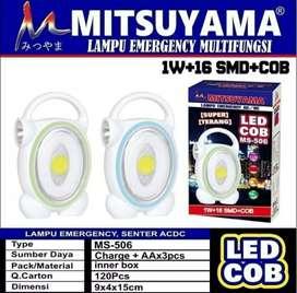 Lampu Emergency / Senter ACDC Mitsuyama MS-506 / Emergency led