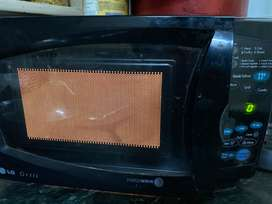 LG microwave and grill