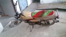 Hero bike pindi nmbr  in good condition ion