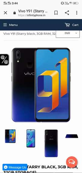 Vivo y91 1 month old emergency sell