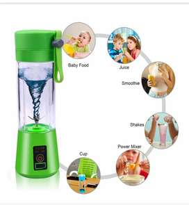Juicer Blender with 6 blade USB Chargeable 380 ml