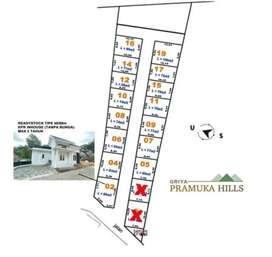 Dijual kavling siap bangun di Griya Pramuka Hills Harga Murah SHM