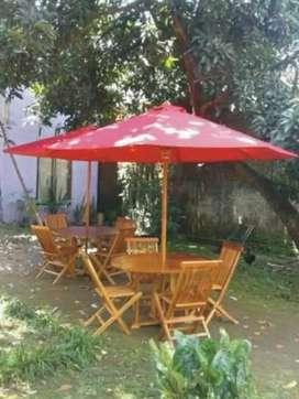 Meja payung cafe,resto,villa,halaman,pantai,tempat wisata