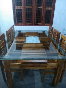 NEW KERALA DINING TABLE SETS. DESIGNER QUALITY. CALL NOW.