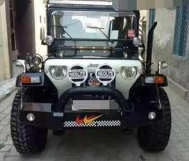Mahindra modified open  jeep