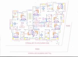 3 bhk new flat at ekta nagar, hatia available for sale rs.43 lac/-
