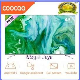 HARGA SPESIAL androidtv coocaa 43S6G , Smart tv 43 IN murah tapi mewah
