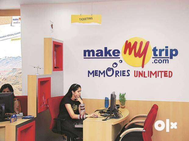 MakeMytrip process hiring Freshers & Experienced candidates in NCR.  Q 0