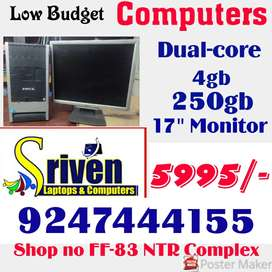 LowBudget Computers: 5999/- only : Sriven Laptops and Computers