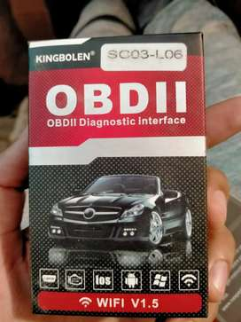 OBD II diagnostic interface scanner