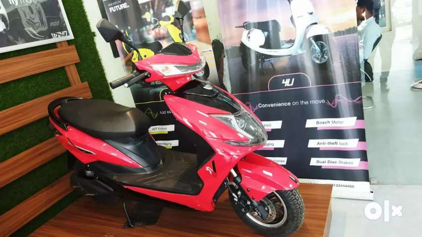 EEVE Electric Scooty by Bharat Motors
