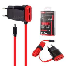 Travel charger Li-ioN 3in1