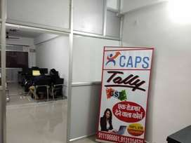 Hall available for rent for coaching, training institute
