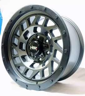 Velg HSR Offroad Ring 17 Untuk mobil Triton,Fortuner,Hilux bisa credit
