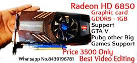 Radeon HD6850 Graphic card GDDR5 1GB