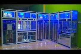 Pusat pemasangan baru depot air Quazone