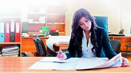 Reception jobs in Office require females staff only