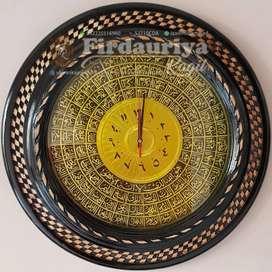 Hiasan jam kaligrafi dinding FREE ONGKIR mewah murah unik