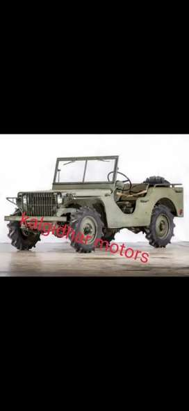 Willy army modified jeep