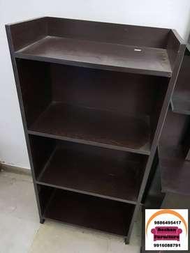bookshelf wooden made only at 2500 4x2feet