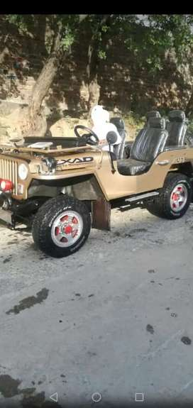 Jeep 1950 Model For Sale Gift For Off Roads Cars Lovers