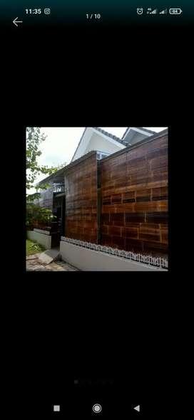 Tirai bambu wulung hitam
