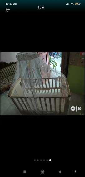 Baby Wooden Crib