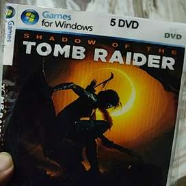Shadow Of The Tomb Raider & Battlefield 5 Game PC DVD