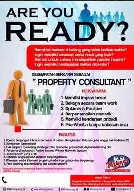 Dibutuhkan agent property